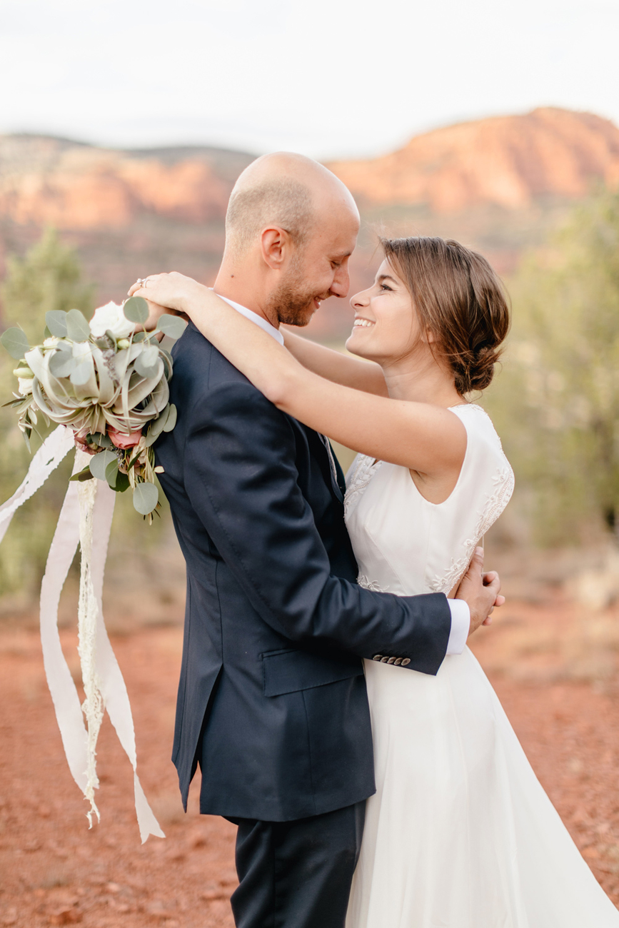 Ashley And Matt Sedona Destination Wedding Emily Wren Photography 056