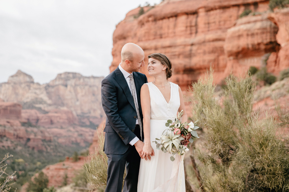 Ashley And Matt Sedona Destination Wedding Emily Wren Photography 064