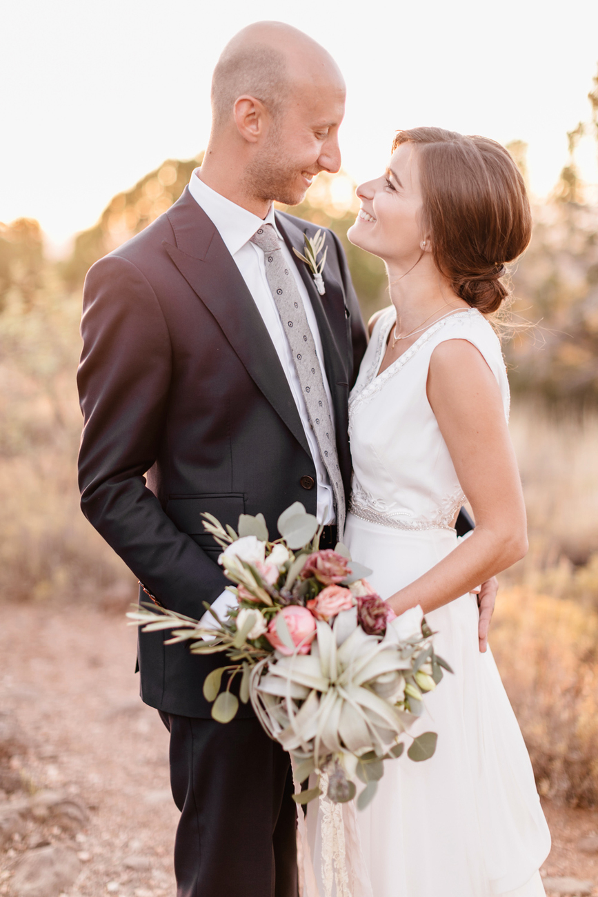 Ashley And Matt Sedona Destination Wedding Emily Wren Photography 078