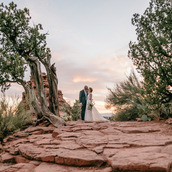 Ashley & Matt | Red Rocks Destination Wedding | Sedona Az