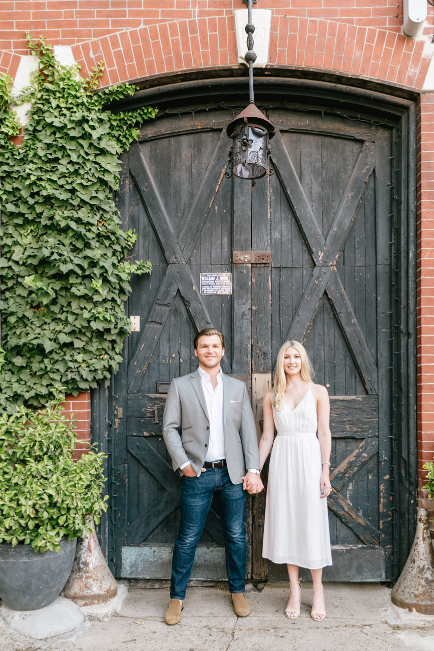 173 Emily Wren Photography Old City Engagement Session