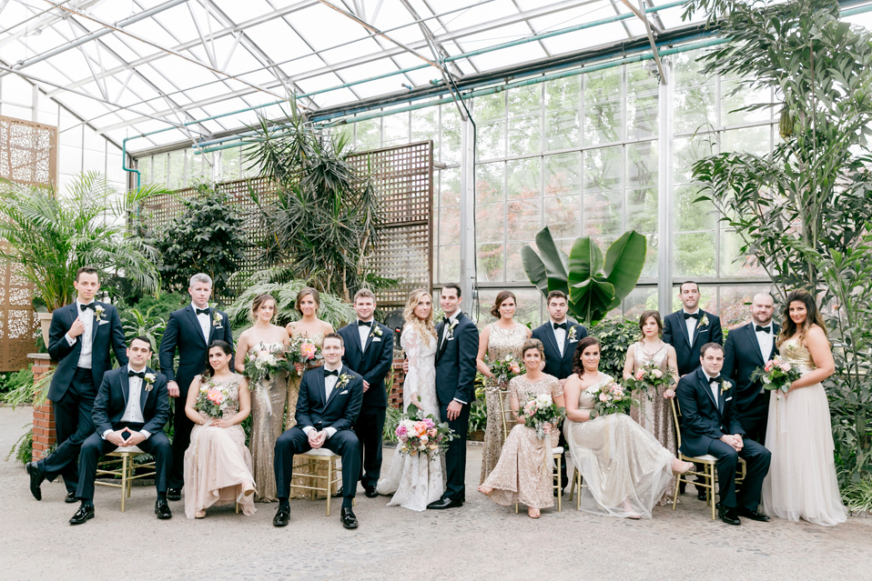 220 Emily Wren Photography Philadelphia Horticulture Center Wedding