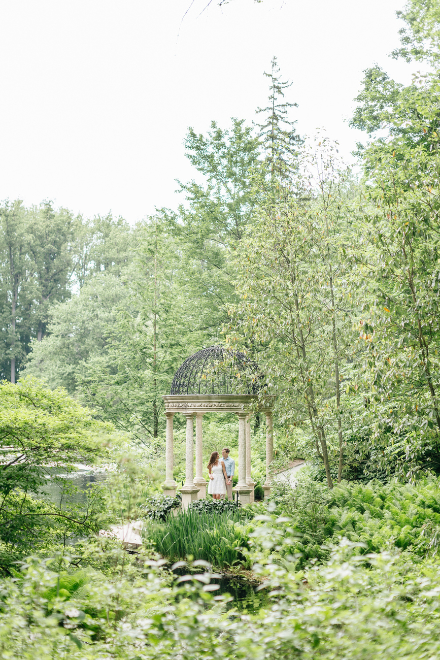 322 Emily Wren Photography Longwood Gardens Engagement Session