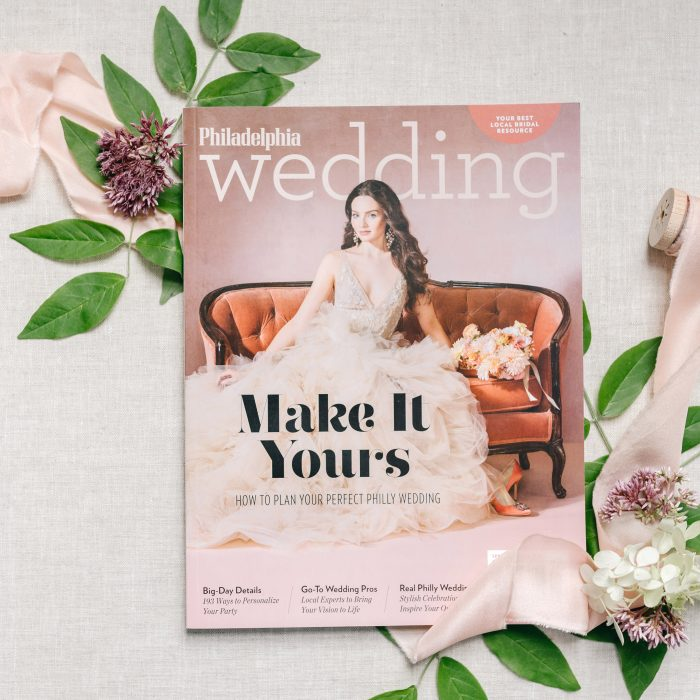 Editorial for Philadelphia Wedding Magazine at The Inn at Barley Sheaf | Emily Wren Photography