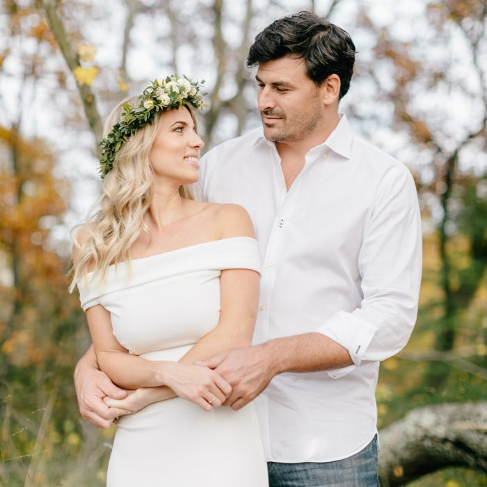 Gabrielle & Tristan | A Picturesque Fall Engagement Session in New Jersey | Emily Wren Photography