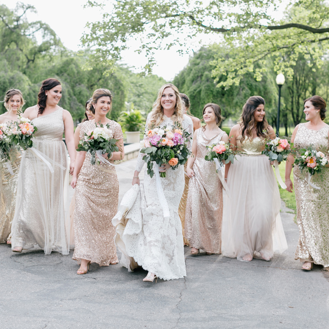 Kim & JP | Horticulture Center Wedding New Jersey Bride | Emily Wren Photography
