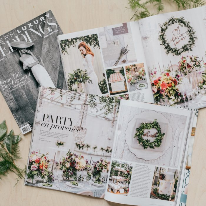 A Party en Provence  Wedding Inspiration Featured in Modern Luxury Magazine | Emily Wren Photography