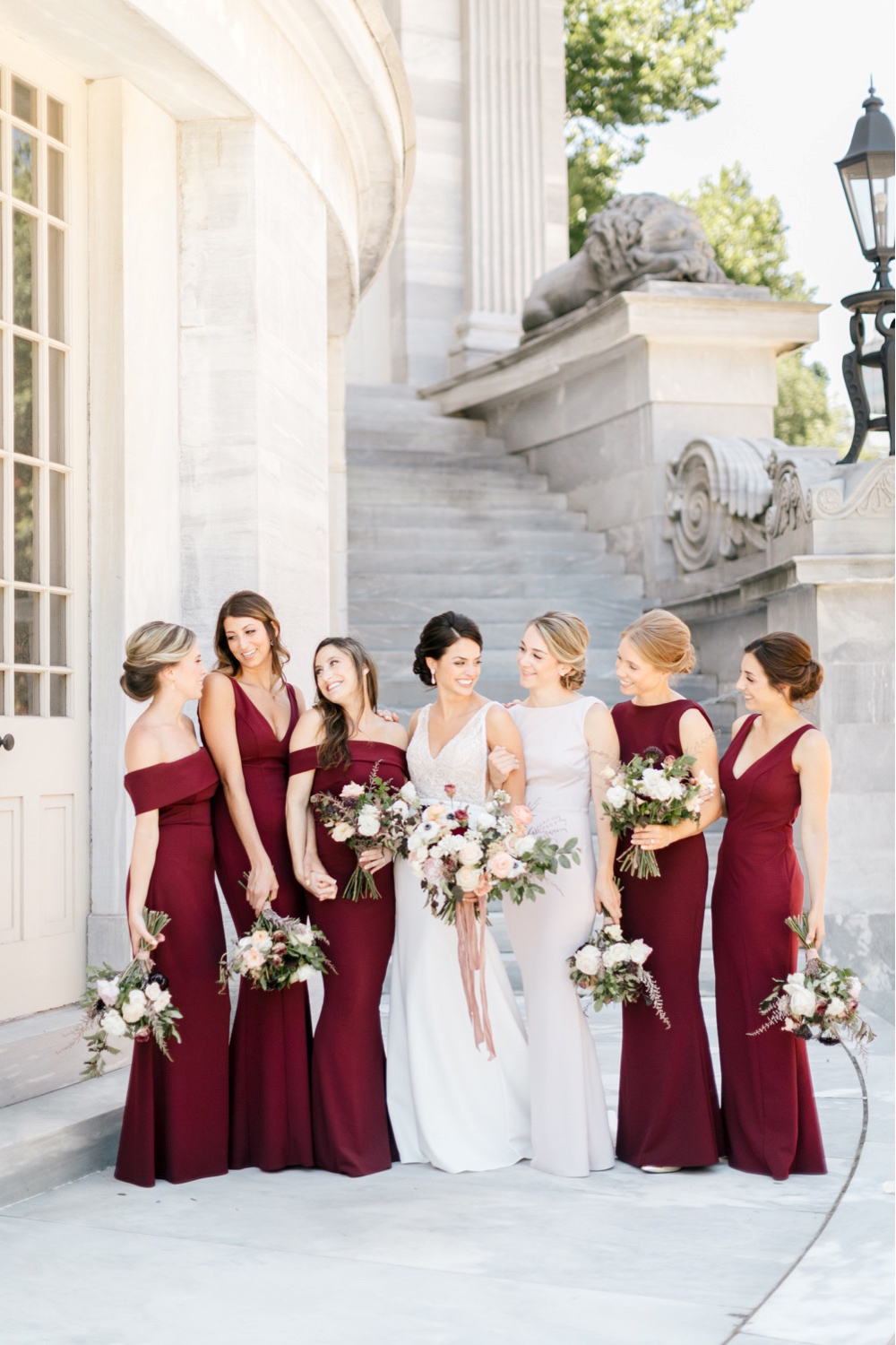 055 Burgandy Bridesmaid Dress Philadelphia Wedding Burgaundy Wedding
