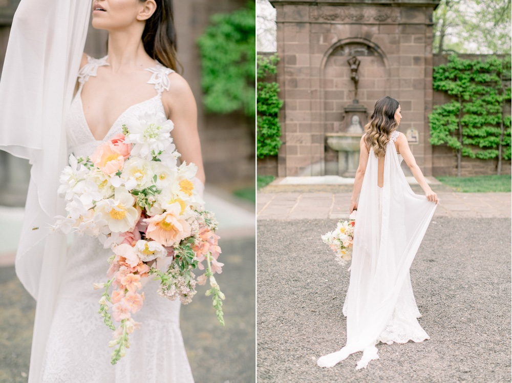 111 Whimsical Wedding Boho Chic Wedding Gown