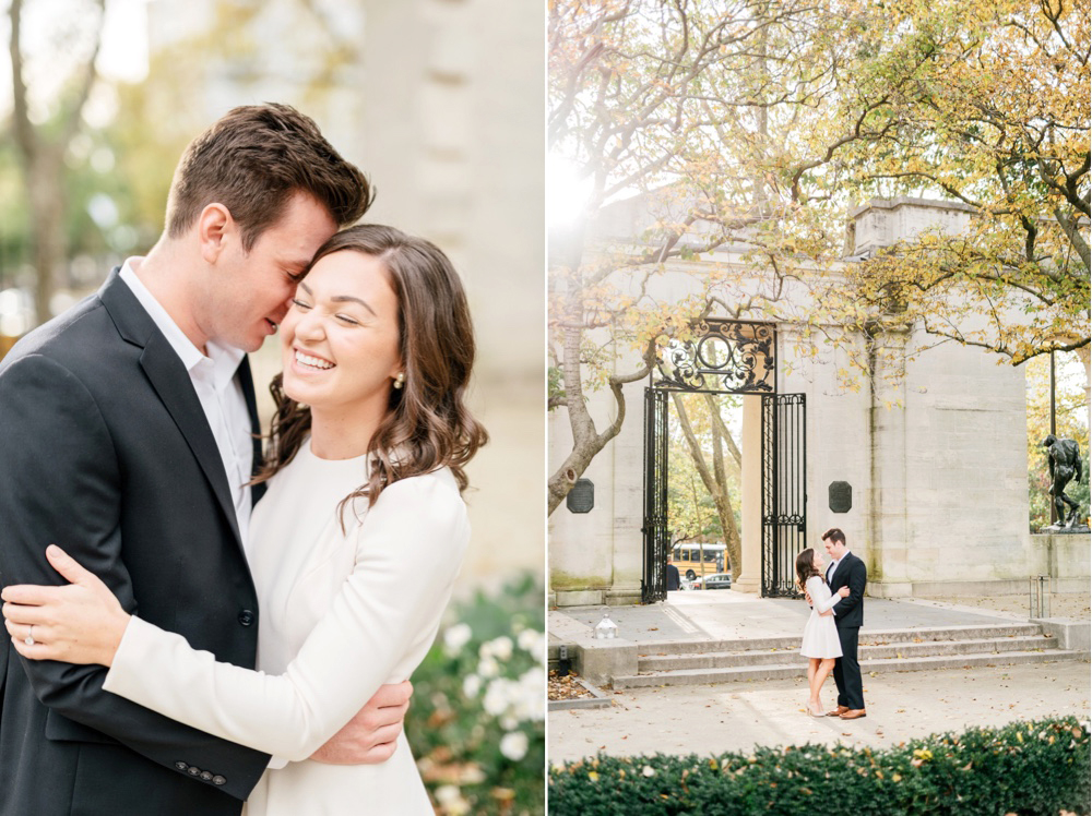 121 Philadelphia Wedding Photographer Philadelphia Engagement Rodin Museum Engagement