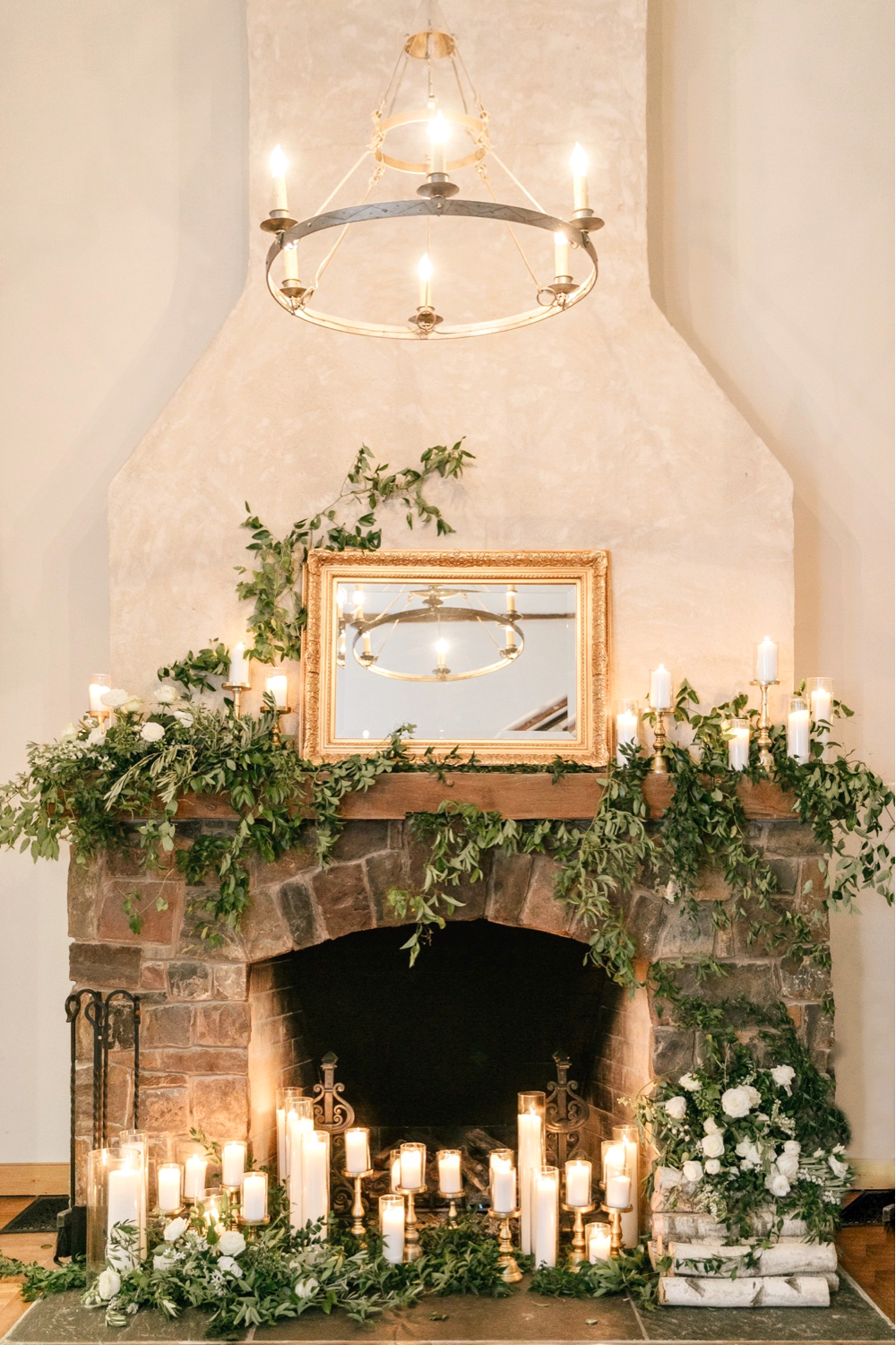 129 The Inn At Barley Sheaf Farm Wedding Candles Decoration Wedding