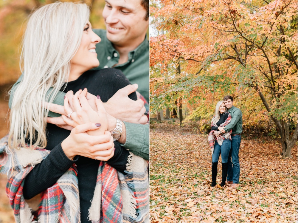 227 Philadelphia Wedding Photographer Fall Engagement Session