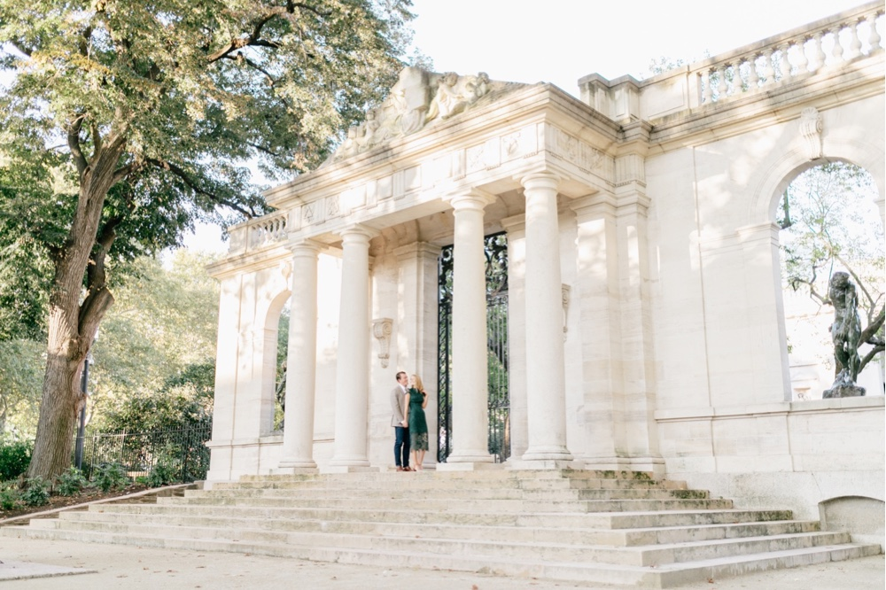 232 Rodin Museum Engagement Engagement Session Philadelphia Engagement