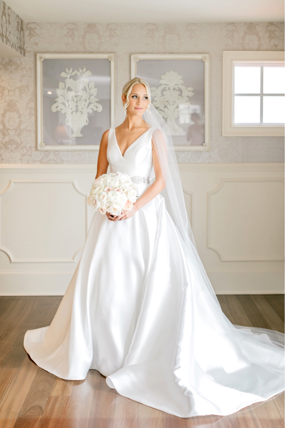 284 Chic Elegant Wedding All White Wedding Elegant Wedding Gown
