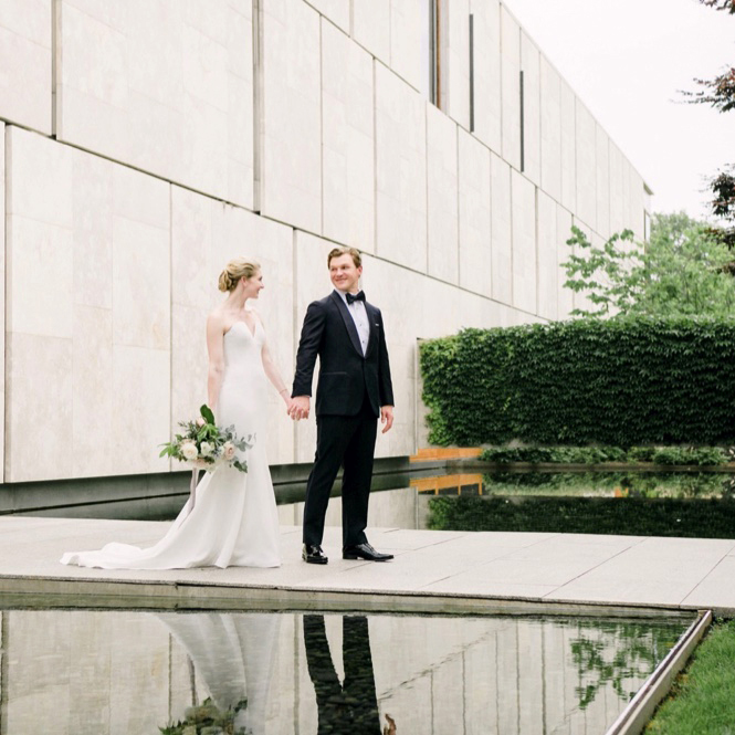 Caitlin & Mark | Elegant Fairmount Water Works Wedding | Philadelphia, PA | Emily Wren Photography