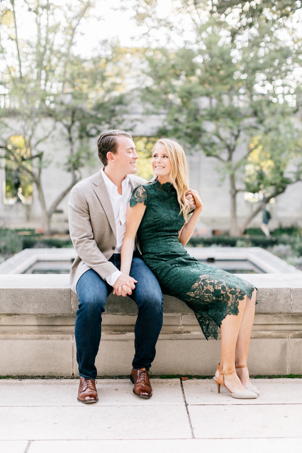 03 Katie&DrewEngagement 050 Rodin Museum Engagement Philadelphia Engagement Philadelphia Wedding Photographer Fine Art Wedding Photographer Light And Airy