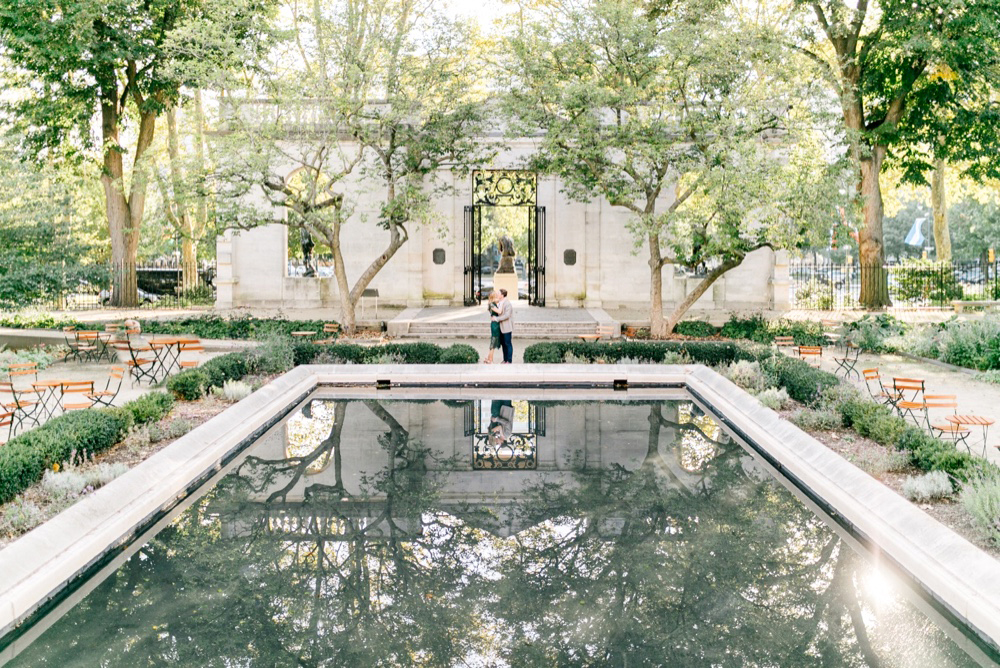04 Katie&DrewEngagement 041 Rodin Museum Engagement Philadelphia Engagement Philadelphia Wedding Photographer Fine Art Wedding Photographer Light And Airy