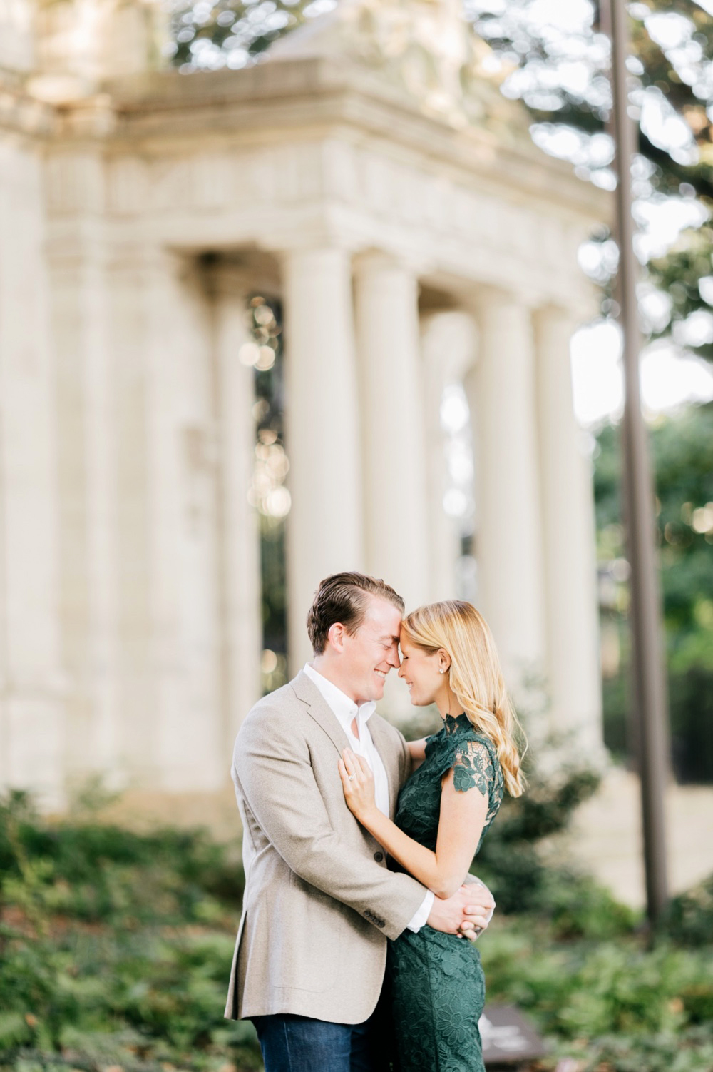17 Katie&DrewEngagement 127 Rodin Museum Engagement Philadelphia Engagement Philadelphia Wedding Photographer Fine Art Wedding Photographer Light And Airy