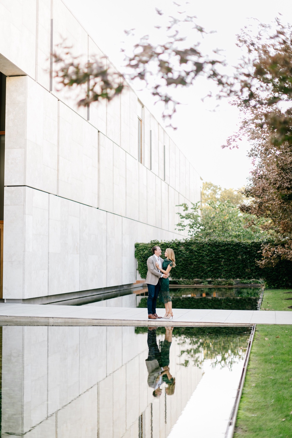 26 Katie&DrewEngagement 078 Rodin Museum Engagement Philadelphia Engagement Philadelphia Wedding Photographer Fine Art Wedding Photographer Light And Airy