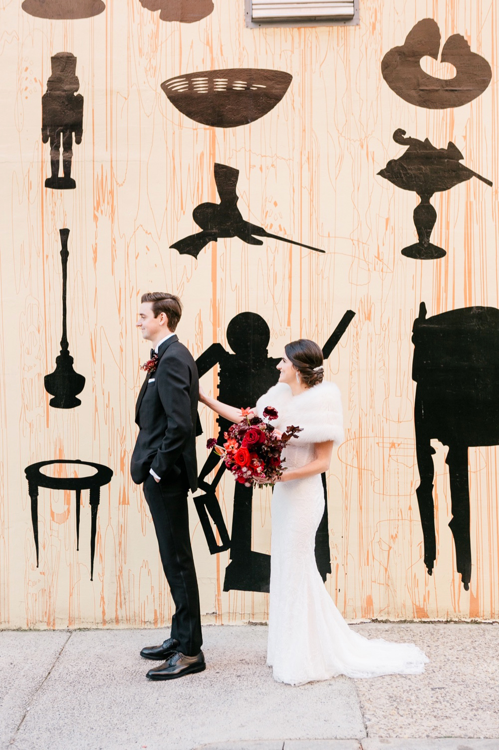 Modern Winter Wedding PAFA Emily Wren Photography 018