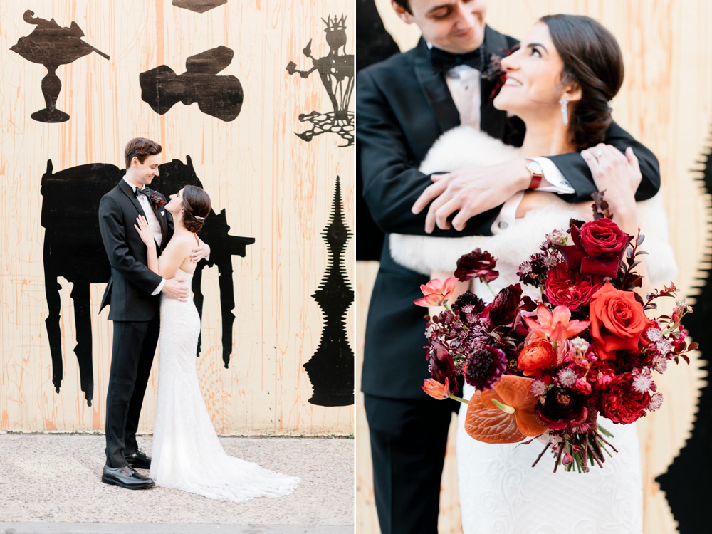 Modern Winter Wedding PAFA Emily Wren Photography 020