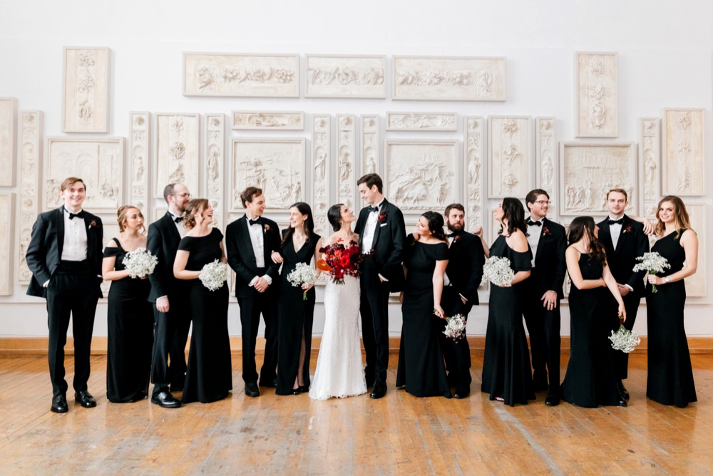 Modern Winter Wedding PAFA Emily Wren Photography 034
