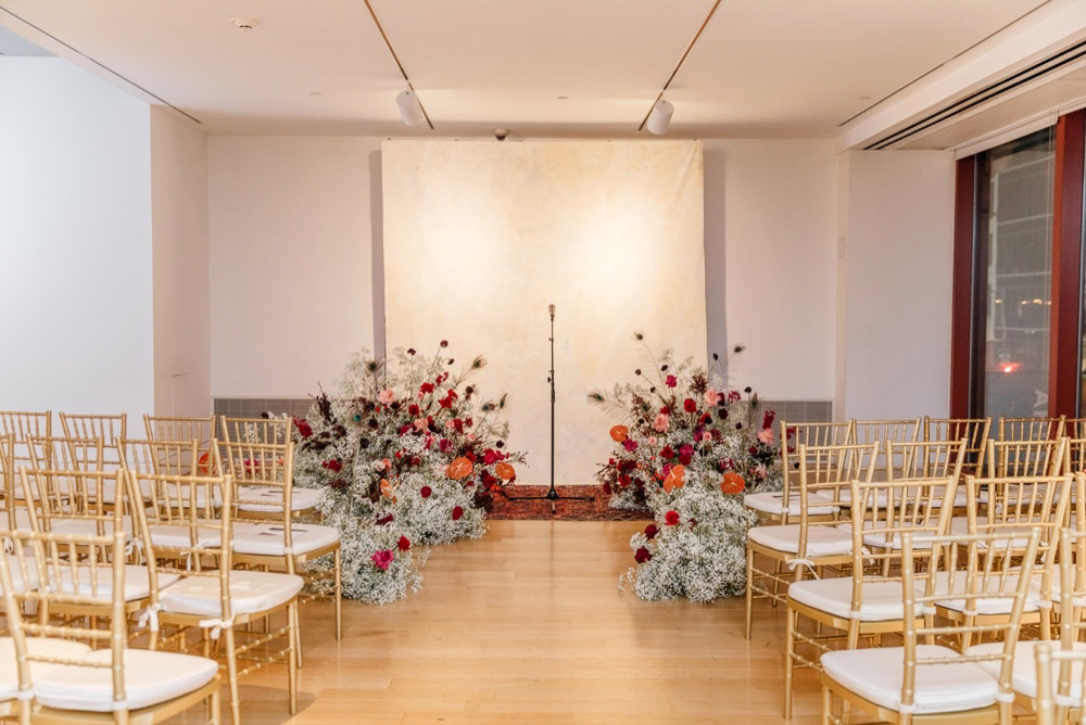 Modern Winter Wedding PAFA Emily Wren Photography 047