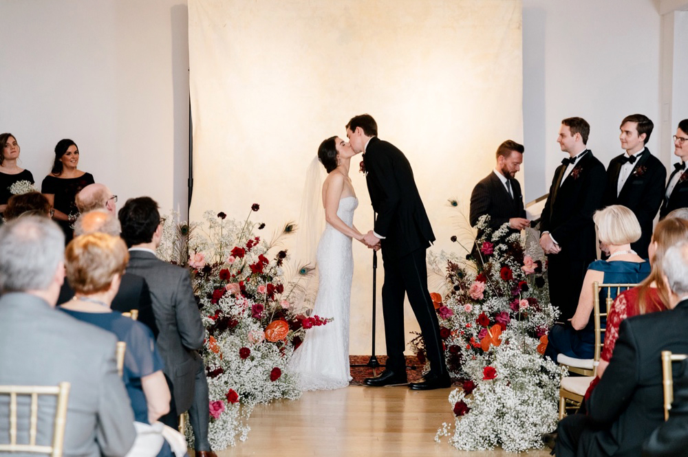Modern Winter Wedding PAFA Emily Wren Photography 055
