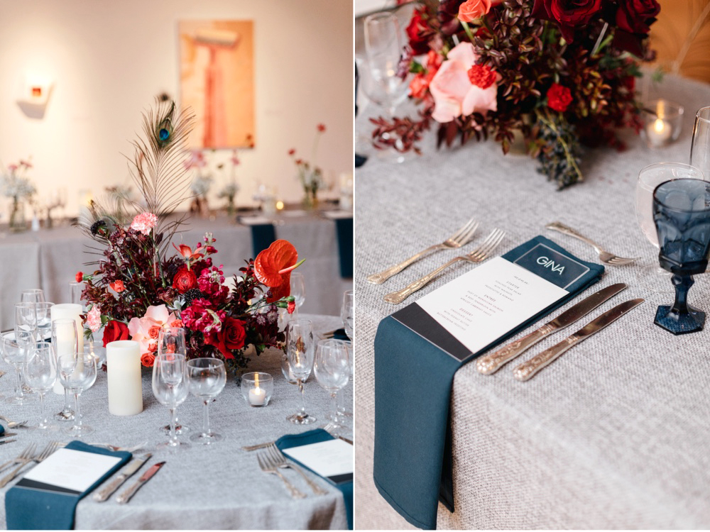 Modern Winter Wedding PAFA Emily Wren Photography 070