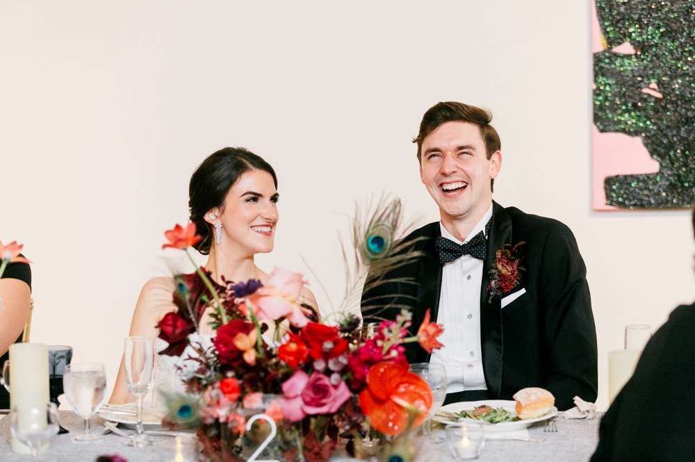 Modern Winter Wedding PAFA Emily Wren Photography 075