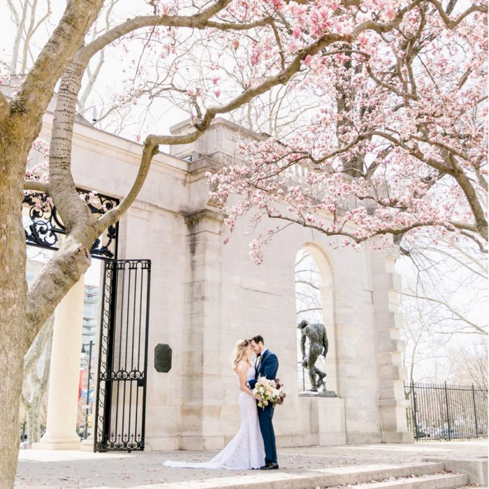 Jillian + David | Dream Come True Spring Wedding at Pomme | Emily Wren  Photography