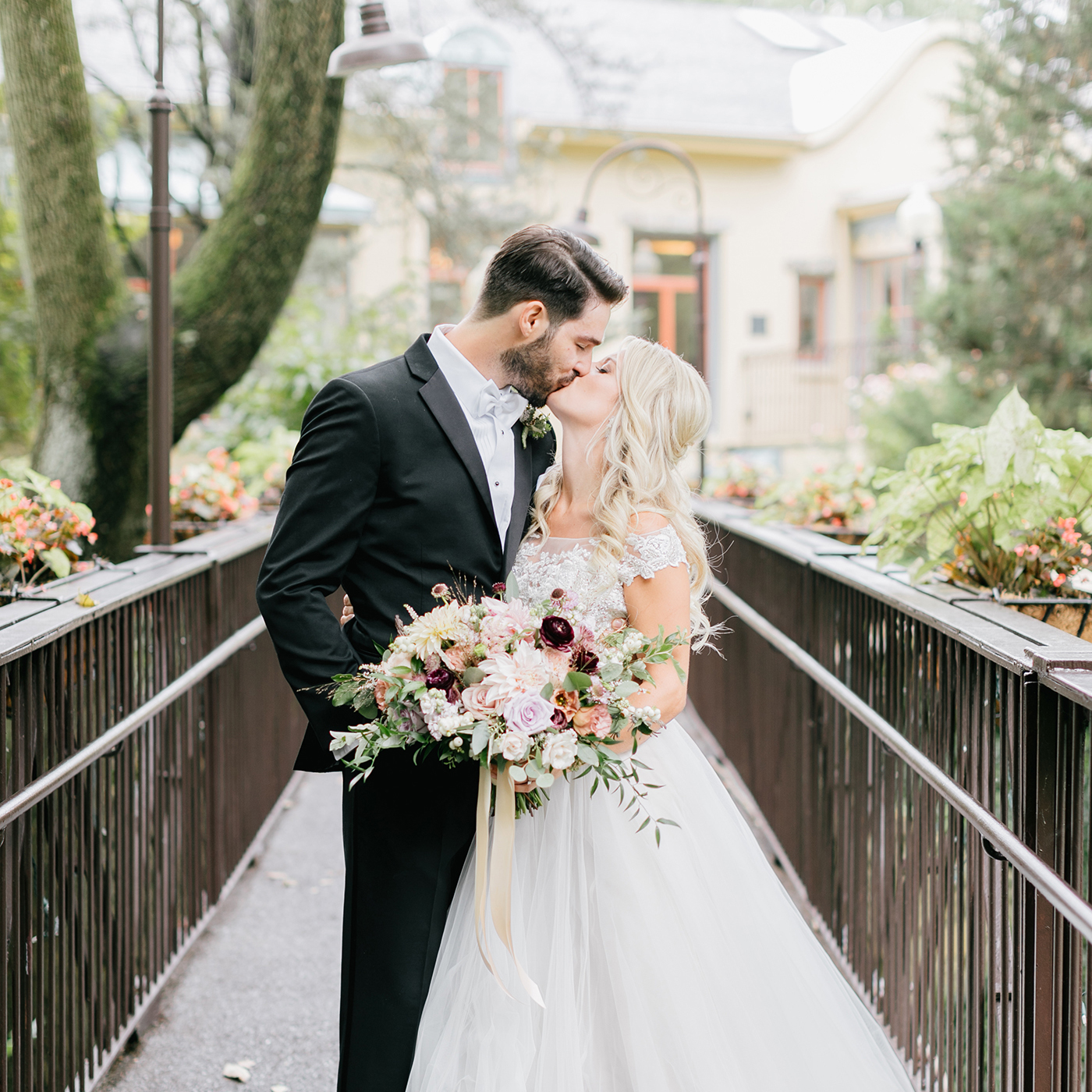 Kate & Joe | An emotional, romantic, woodland wedding in Radnor, PA | Emily Wren Photography